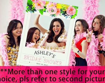 Bridal Shower Photo Prop - Wedding Photo Prop - Sweet Blooms Photo Prop - DIGITAL FILE - Baby Shower Photo Prop - Bachelorette Party