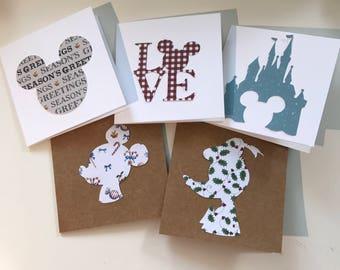 Disney Christmas Cards - 10 pack