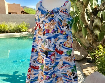 Vintage Girl's Hawaiian Hilo Hattie Original Sundresss