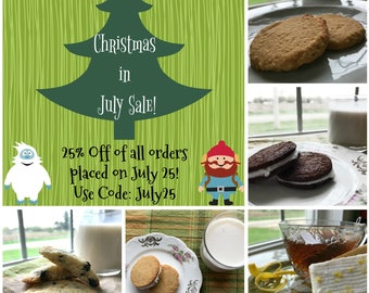 Save 25% During Our Christmas in July Sale!