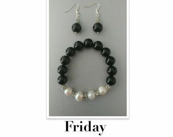 Earrings & Bracelet Set