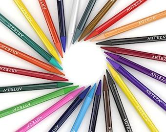 Arteza Woodless Watercolor Pencils set of 24
