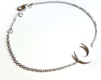 Silver bracelet 925 MOON