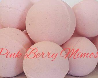 Bambino Pink Berry Mimosa Bath Bombs