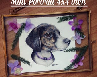 Mini 4X4 Custom Pet Portrait