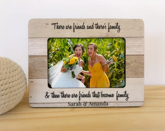 Personalized Sister In Law Frame Wedding Thank You Gift Maid of Honor Gift Bridesmaids Gift. Sister in law Frame. Bridesmaid Thank you