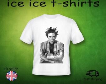 John Lydon - Public Image Ltd - sex pistols - punk - new wave -  adult white  t-shirt