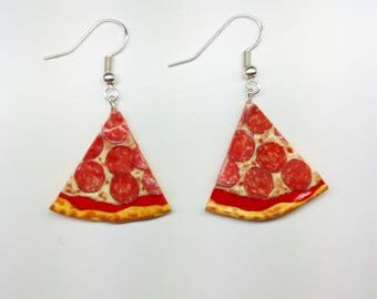 Mini Pizza Earrings Various flavors earrings Earrings Minifood Food Jewelry