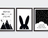 3 Posters/Pictures for kids room