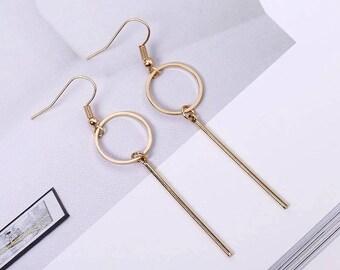 Minimalist Geometric Earrings