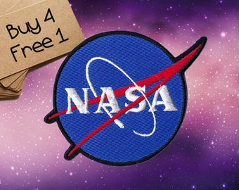 Nasa Patch Nasa Patches Nasa Logo Patch Nasa Iron On Patch Nasa Embroidered Patch Nasa Applique