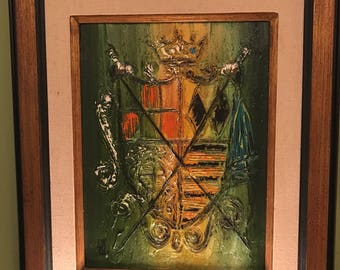 Coat of Arms oil painting