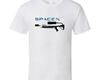 Flamethrower - Boring - Space X T Shirt