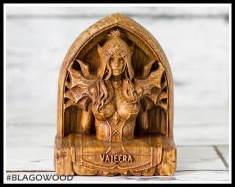 Wooden, Valeera, hearthstone, warcraft, wow, world of warcraft, wow hero, wow statue, wow figurine, rogue