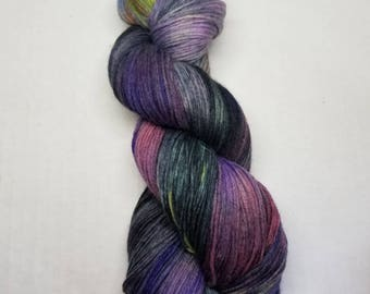 Hand dyed yarn MCN Fine Merino Wool,  Cashmere, Nylon indie dyed yarn