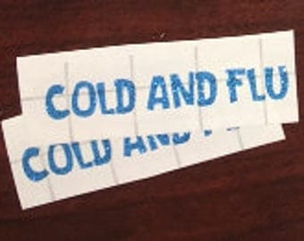 Cold and Flu LABEL ONLY