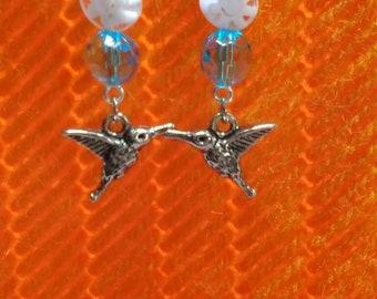 All-a-buzz Hummingbird Earrings