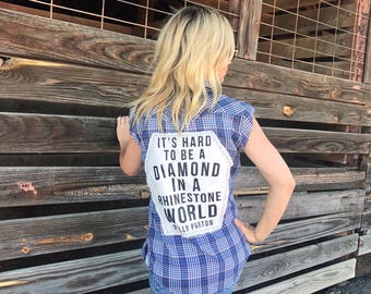 Dolly Quote Western Shirt