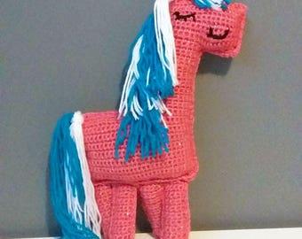 Amigurumi Cotton Candy the Ragdoll Unicorn!