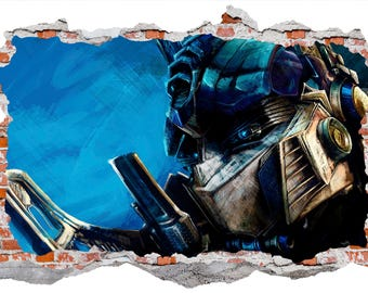 Transformers Wall Sticker Graphic Wall Decal Art