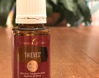 Young Living THIEVES Essential Oil, Young Living Oils, Thieves Essential Oil, Thieves Oil, 15ml Thieves Essential Oil, Young Living Thieves