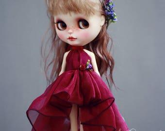 Gauze skirt for Blythe Doll