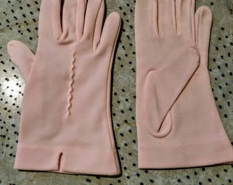 1950s Pink Driving Gloves