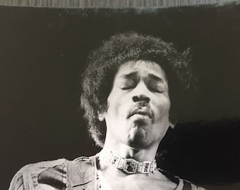 Jimmy Hendrix, 1968. Original press photos - Laurens van Houten