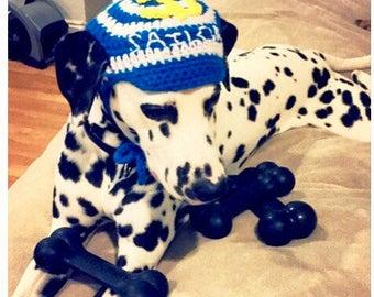 Crochet dog hat! Dog beanie