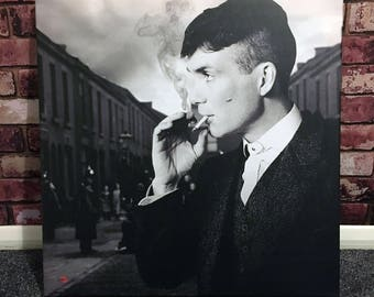 Peaky Blinders Tommy KiSS Canvas