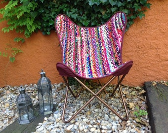 Butterfly boho chair
