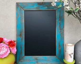 Distressed Wood Chalkboard
