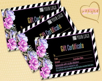 Gift Certificate, Surprise gift, Certificate,Printable Bucks,Cash, Certificate surprise,Printable Business , Pop Up Shop Cards