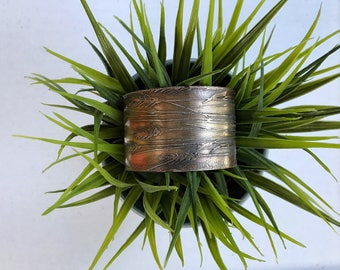 Etched Copper Cuff