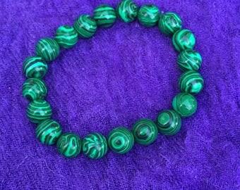 Malachite Bracelet 6mm