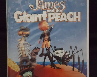 Disney James and The Giant Peach Vintage VHS