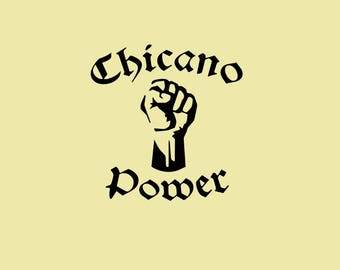 Chicano Power Vinyl Graphic Decal