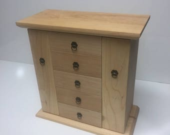 Handmade Maple Jewelry Box