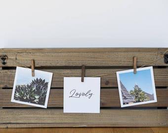 3 4x4 Tropic Vibes Prints, Beach Landscape prints