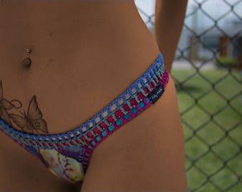 La Limeña Low-rise Brazilian-cut Bikini Bottom
