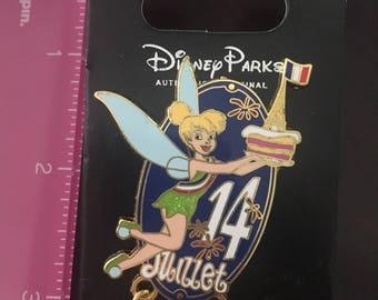 Disney Tinkerbell Juillet 14 Trading Pin