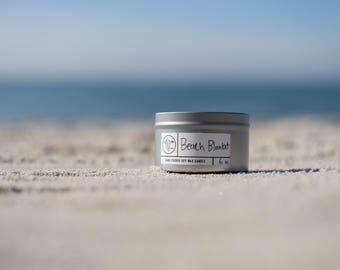 Beach Blanket Soy Wax Candle (3oz or 6oz)