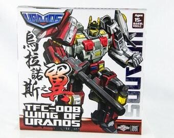 Rare TFC Toys TFC-008 Wing of Uranos Transformer Autobot
