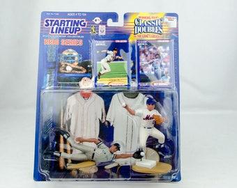 Starting Lineup Baseball 1998 Classic Doubles Derek Jeter Ray Ordonez NY Mets