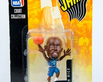 Mattel NBA Jams Court Collection Glen Rice Figure Charlotte Hornets