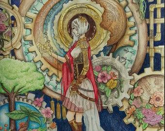 Artwork by Students • Balance • Fantasy Art • Collage Art