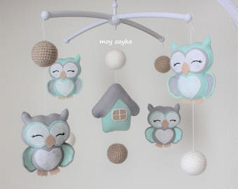 "Musical mobile ""Owls"""