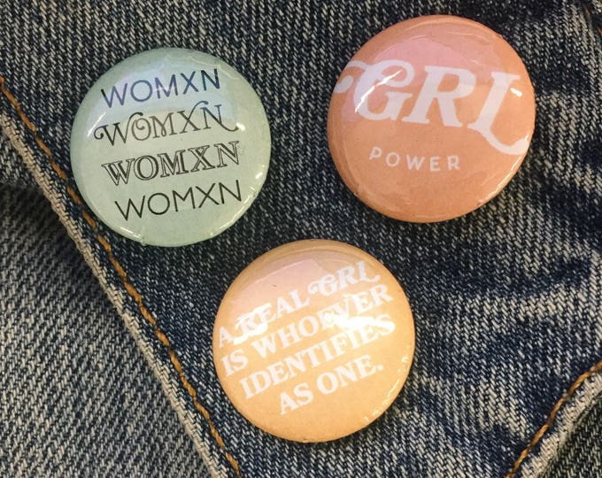 Featured listing image: Real GRL button pack