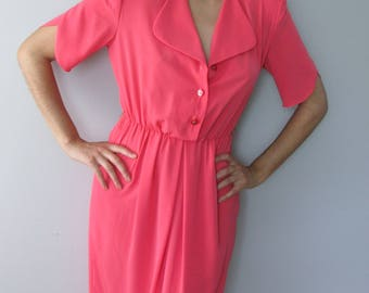 Henry Lee Petites Pink Vintage Women's Wear Dress Gift