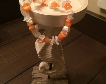 Sunset Beach Bead Bracelet